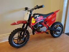 50cc Moto madness Pit Bike(no vat)