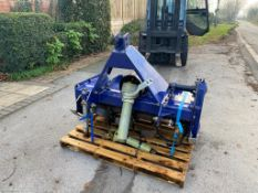 COMPACT TRACTOR ROTOVATOR FARM POWER, 1 METRE WORKING WIDTH, HEAVY DUTY, 3 POINT LINKAGE *PLUS VAT*