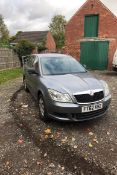 2012/62 REG SKODA OCTAVIA S TDI CR 1.6 DIESEL GREY 5DR HATCHBACK, SHOWING 4 FORMER KEEPERS *NO VAT*