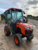 2010/11 KUBOTA B2530 COMPACT TRACTOR, RUNS AND DRIVES, FULLY GLASS CAB, CLEAN MACHINE *PLUS VAT*