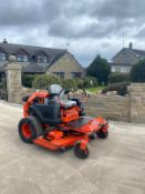BAD BOY ZERO TURN RIDE ON LAWN MOWER, RUNS, WORKS AND CUTS, 3 CYLINDER CAT DIESEL ENGINE *NO VAT*