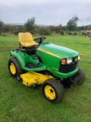 2006 JOHN DEERE X748 RIDE ON LAWN MOWER, RUNS, DRIVES AND CUTS, REAR PTO *PLUS VAT*