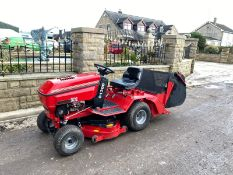 WESTWOOD S1300 RIDE ON LAWN MOWER, RUNS AND WORKS WELL, 12.5HP BRIGGS & STRATTON ENGINE *NO VAT*