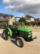 DEUTZ-FAHR AGROKAIL 35 TRACTOR, RUNS AND DRIVES, FRONT AND BACK LINKAGE *PLUS VAT*