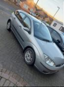 2004 FORD FOCUS LX AUTO 1.6 PETROL SILVER 4 SPEED AUTO 5 DOOR HATCHBACK *NO VAT*