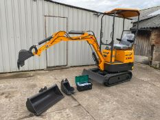 MINI EXCAVATOR RHINOCEROS XN08 BRAND NEW, YEAR 2020, LATEST MODEL SERIES 3 WITH EURO 5 ENGINE