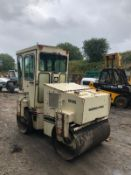 INGERSOLL RAND DD-25 ROLLER, 1250MM DRUMS, RUNS, DRIVES AND VIBRATES *PLUS VAT*