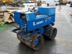 HATZ TWIN DRUM REMOTE CONTROL TRENCHER, DELIVERY ANYWHERE UK £175 *PLUS VAT*