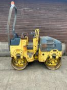 BOMAG BW80AD-2 DOUBLE DRUM ROLLER, ONLY 990 HOURS *PLUS VAT*
