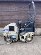 2007 INGERSOLL RAND DD14 ROLLER, ONLY 537 HOURS STARTS FIRST TIME, RUNS, DRIVES, VIBRATES BOTH DRUMS