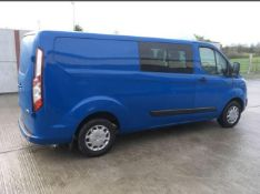 2013/63 REG FORD TRANSIT CUSTOM 290 TREND ECO-TEC 2.2 DIESEL PANEL VAN, SHOWING 1 FORMER KEEPER