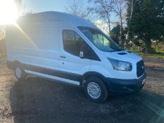 2017/17 REG FORD TRANSIT 350 2.0 DIESEL WHITE PANEL VAN, SHOWING 0 FORMER KEEPERS *PLUS VAT*