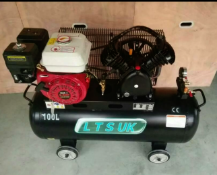 New Industrial Petrol powered air compressor Unleaded petrol 100L air compressor Tank: 100L Power: