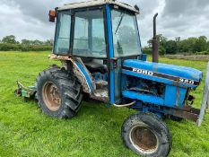 FORD 1920 COMPACT TRACTOR, ROAD REGISTERED, STARTS FIRST TURN OF THE KEY, RUNS & WORKS AS IT SHOULD