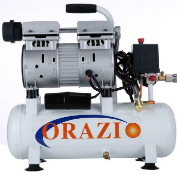 MC - new ORAZIO low noise Silent Air compressor 9L Europe Plug 600W for Garage Clinic