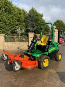 2016 JOHN DEERE 1580 MOWER, RUNS, DRIVES AND CUTS, CLEAN MACHINE, 2135 HOURS, ROAD REGISTERED