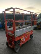 2010 JLG 1930ES SCISSOR LIFT, RUNS, DRIVES AND LIFTS, LOW 216 HOURS, EX HIRE COMPANY, COATES HIRE