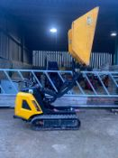 2013 JCB HTD-5 DUMSTER TRACKED DUMPER, YEAR 2013, RUNS WORKS AND TIPS, GOOD TRACKS *PLUS VAT*
