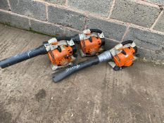 3 X STIHL BLOWERS, DIRECT EX COUNCIL *PLUS VAT*