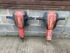 2 X HILTI TE3000 DIRECT EX GAP HIRE, YEAR 2013, 110V *PLUS VAT*