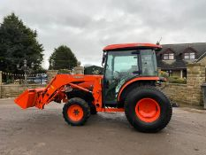 KUBOTA L4240 LOADER TRACTOR, YEAR 2011, ONLY 735 HOURS, 4 WHEEL DRIVE, 3 POINT LINKAGE *PLUS VAT*