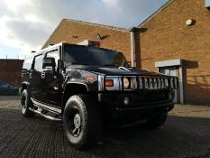 Scare the Neighbour's in this Black Hummer H2, 2006 4 x 4 (no vat)