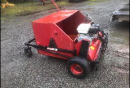 LOGIC TOWBEHIND SWEEPER, RUNS AND WORKS, CLEAN MACHINE, GOOD CONDITION, SUITABLE FOR ATV *NO VAT*