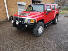 Red Hummer H3, 2006 4 x 4 NO VAT