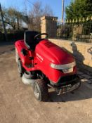 HONDA HF2417 RIDE ON MOWER, RUNS, DRIVES AND CUTS, CLEAN MACHINE, MULCH OR COLLECT OPTION *NO VAT*