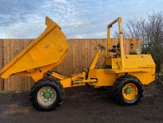 Benford PT6000 6 ton 4x4 dumper In working order *PLUS VAT*