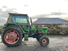 DEUTZ D7206 LOADER TRACTOR, RUNS, WORKS AND LIFTS, 3 POINT LINKAGE, PICK UP HITCH *NO VAT*