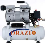 MC - new ORAZIO low noise Silent Air compressor 9L Europe Plug 600W for Garage Clinic