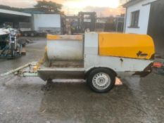 DIESEL TURBO SOL PLASTER MIXER MORTAR MIXER, DELIVERY ANYWHERE UK £300 *PLUS VAT*
