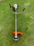 BRAND NEW AND UNUSED STIHL FS55 STRIMMER, C/W MANUAL AND GOGGLES *NO VAT*