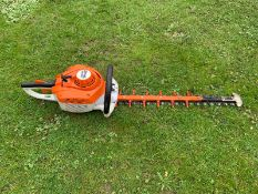 STIHL HS56S HEDGE CUTTER, WORKS, BOUGHT BRAND NEW 2 YEARS AGO, NOT HAD MUCH WORK, EX DEMO CONDITION