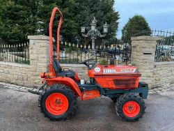 KUBOTA B1550 COMPACT TRACTOR, BELLE RANGER 450 FLOOR SAW, PREMIUM WOOD CHIPPER CARS VANS TRACTORS WATCHES TRAILERS ENDS Thursday From 7pm