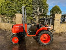 KUBOTA B2420 COMPACT TRACTOR, RUNS AND DRIVES, CLEAN MACHINE, CANOPY, LOW 2150 HOURS *PLUS VAT*