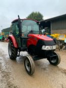 2018 CASE FARMALL 55C TRACTOR, RUNS AND DRIVES, CLEAN MACHINE, FULLY GLASS CAB *PLUS VAT*