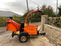 TIMBERWOLF TW150DHB WOODCHIPPER, RUNS, WORKS AND CUTS *PLUS VAT*