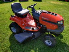 2020 BRAND NEW HUSQVARNA TS138 ROTARY RIDE ON LAWN MOWER (SIDE DISCHARGE) NO COLLECTOR *PLUS VAT*
