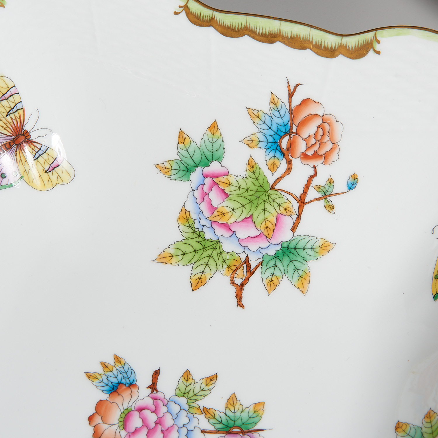 Lot 58 - (15) Herend Porcelain Table Articles
