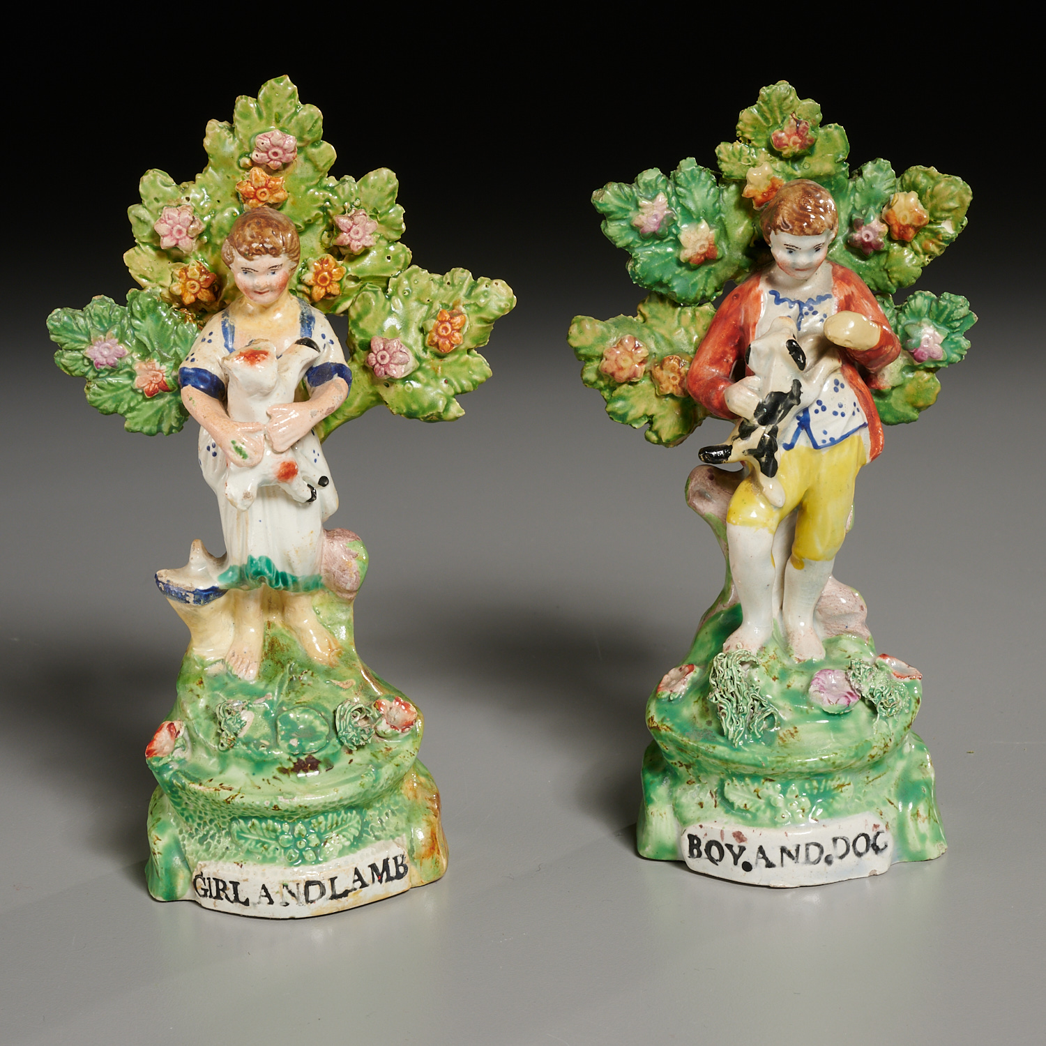 Lot 17 - (5) English Staffordshire Wares
