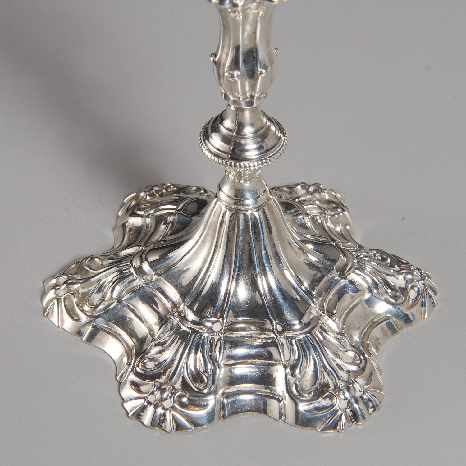 Lot 46 - George III Sterling Silver Taperstick