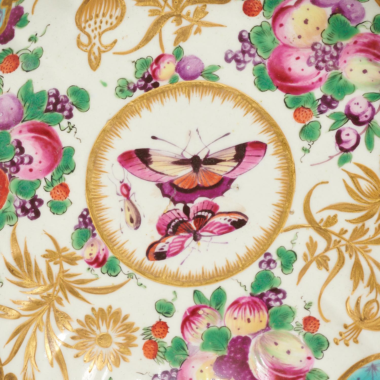 Lot 39 - (3) Worcester Porcelain Table Articles