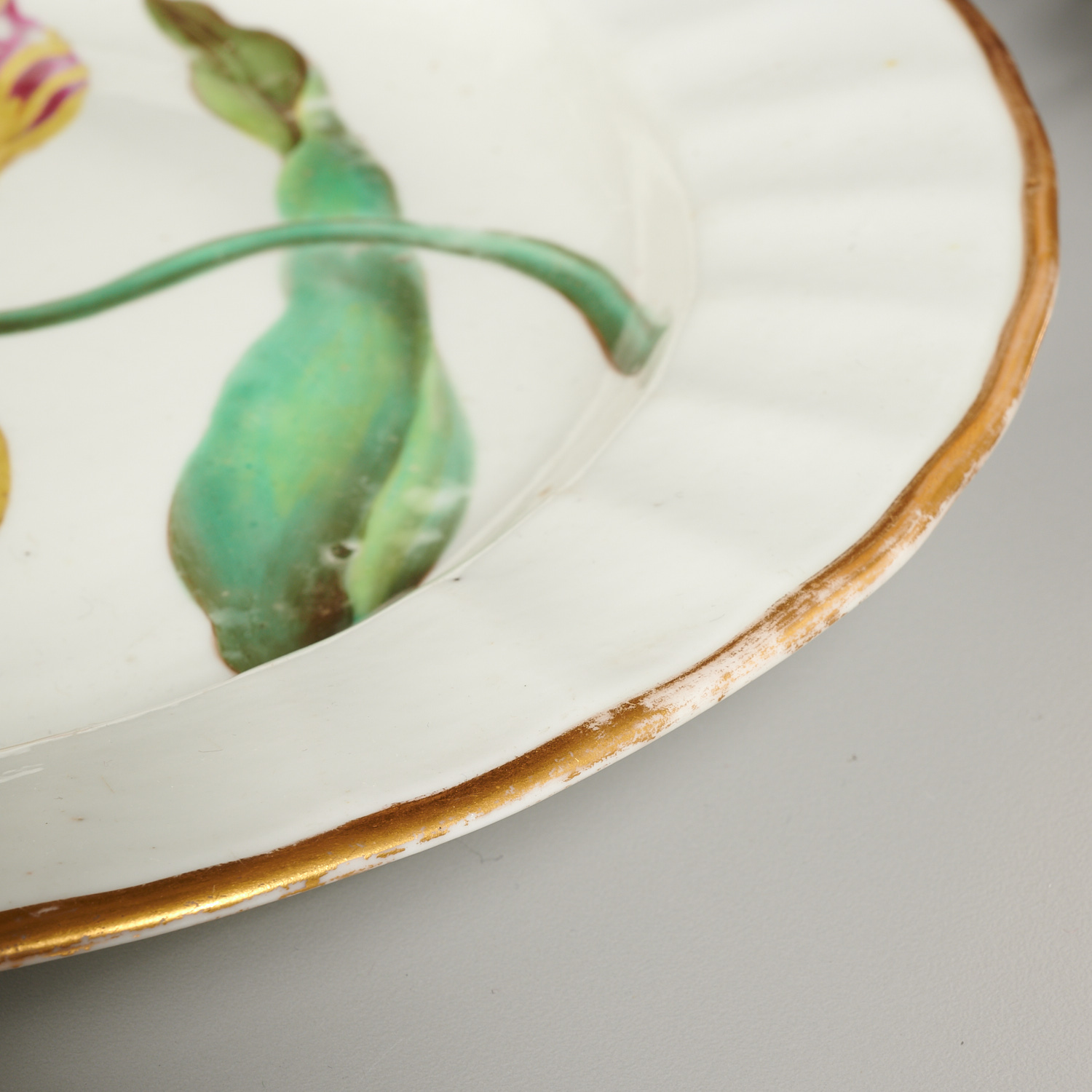 Lot 4 - (3) English Ceramic Botanical Plates