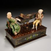 Musical automaton by Rzebitschek of Prague