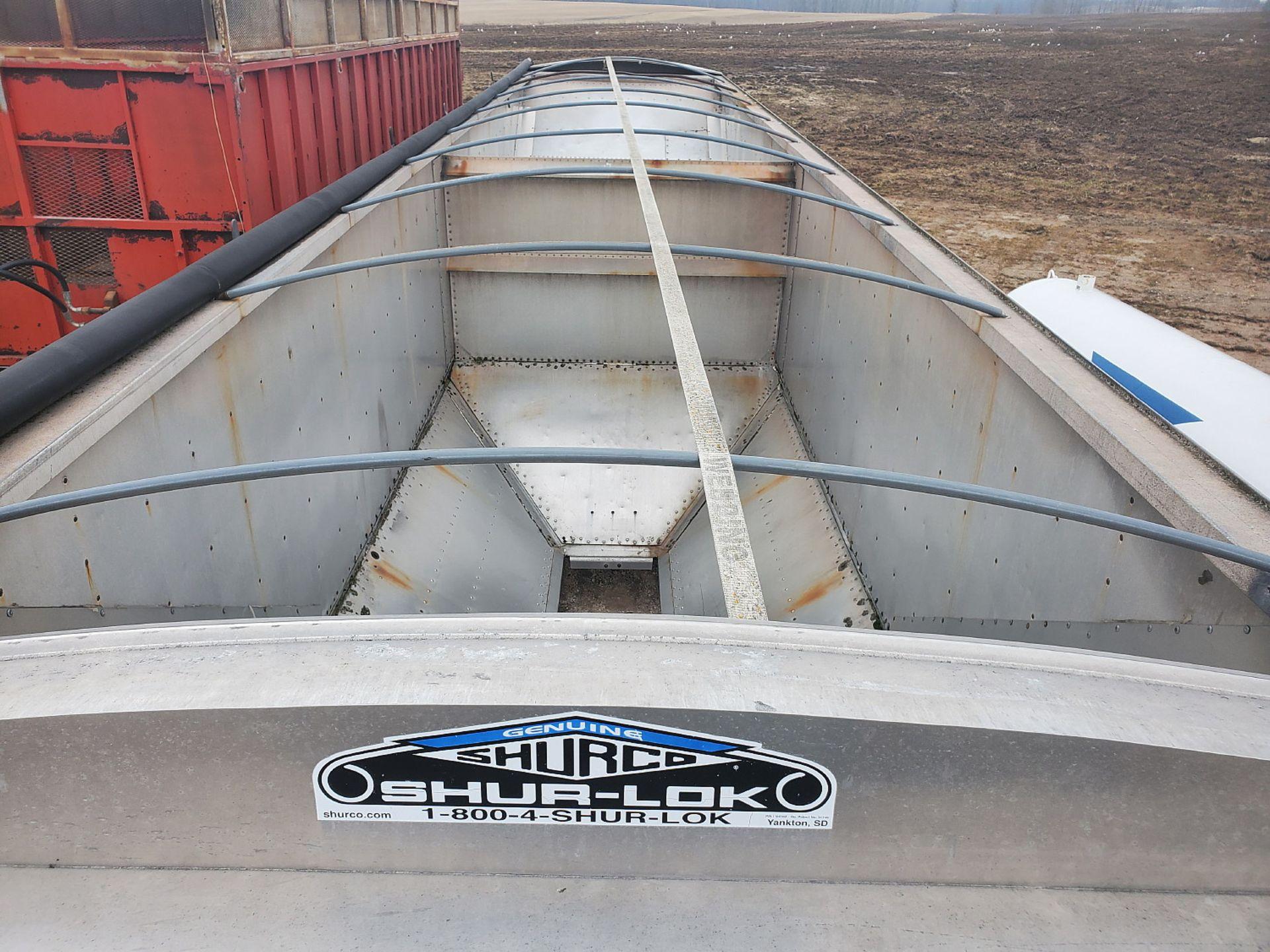 Lot 5 - 1992 TIMPTE 42' HOPPER BOTTOM TRAILER