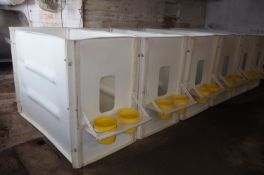 """FRITSCH INDIVIDUAL POLY CALF PENS-SELLING """"$ X 6"""""""