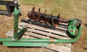 "JOHN DEERE 3-PT. 16"" HD Post Hole Auger"