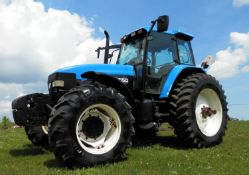 NEW HOLLAND TM10 MFWD TRACTOR